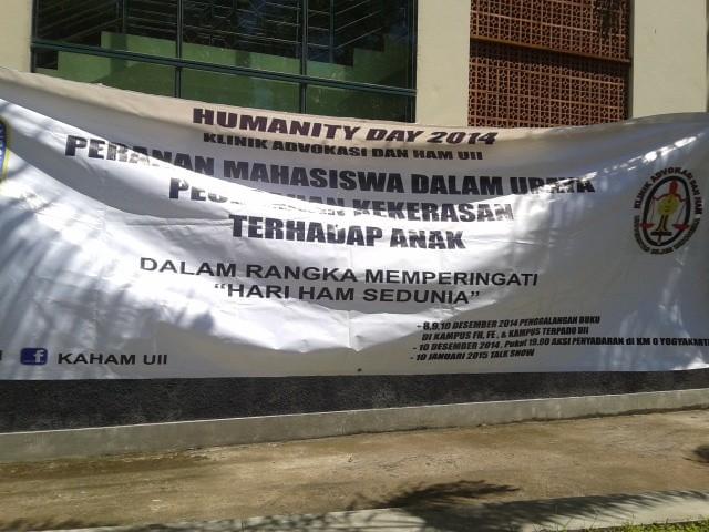 Humanity Day KAHAM
