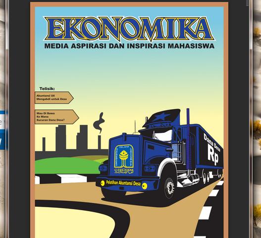Newsletter LPM EKONOMIKA Edisi 01, Periode 2014-2016