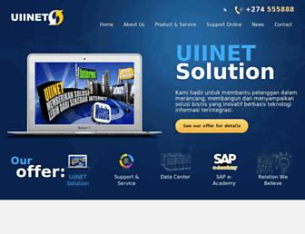 UIINet, INTERNET SERVICE PROVIDER YANG SIAP MELAYANI ANDA