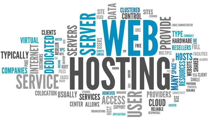 Hosting, Lahan Bagi Situs Web