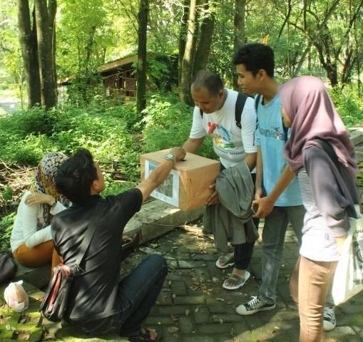 Gerakan Mari Berbagi,  Aksi 1000 Rupiah Untuk Nepal