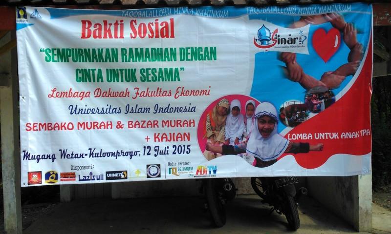 Bakti Sosial LDF JAM, Saling Berbagi demi Kesempurnaan Ramadhan