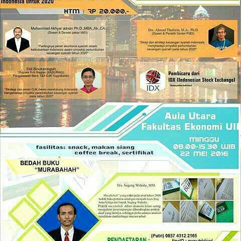 """SEED 2016 """"Sinergi Membangun Ekonomi Islam dalam Ilmu dan Inovasi"""""""