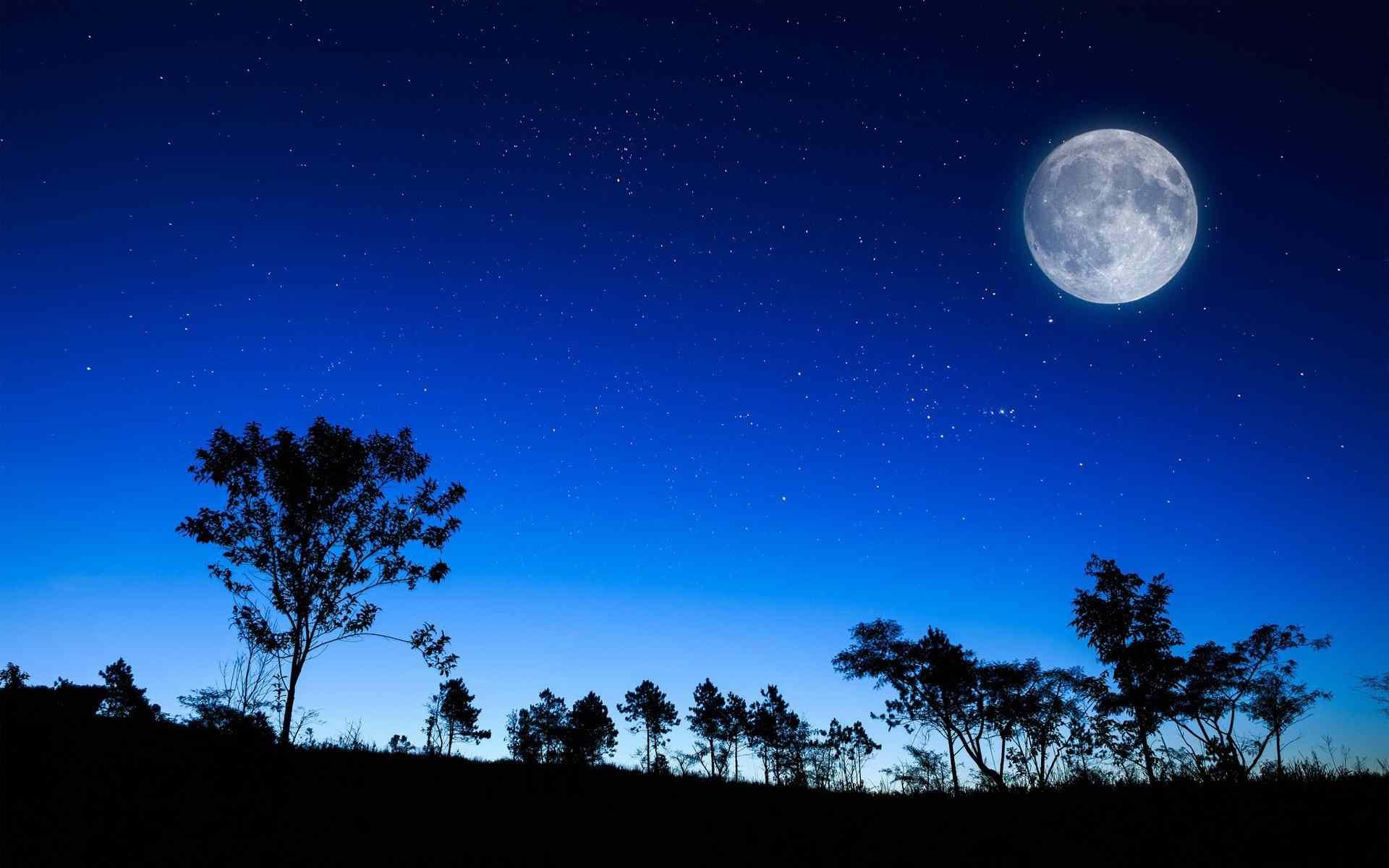 moon-at-night-images-wallpaper