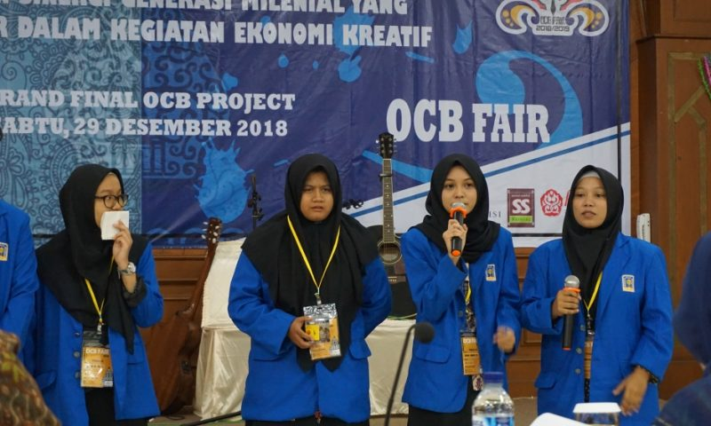 Melatih Softskill Melalui OCB Fair 2018