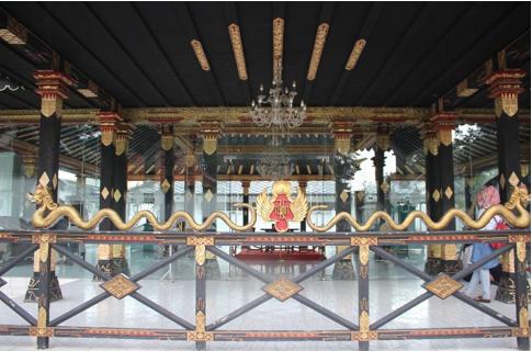 Lambang Praja Cihna merupakan lambang khas Keraton Yogyakarta (Foto: Eky/Ekonomika)